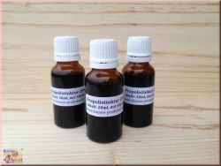 Propolis tincture 20% with alcohol, (20ml)