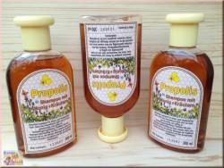 Шампунь с прополисом, медом и травами.