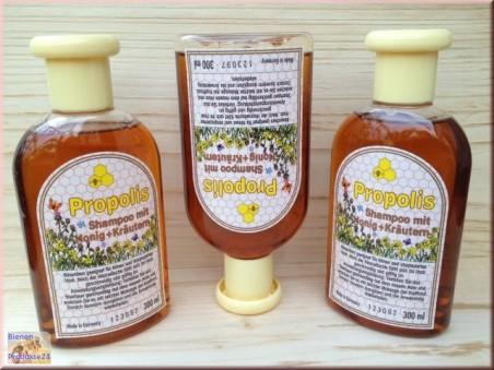 Shampoing à la Propolis au miel et aux herbes (300ml)