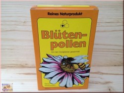 Цветочная пыльца в гранулах.