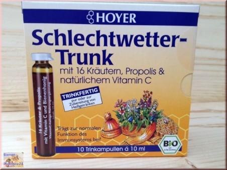Hoyer Schlechtwetter Trunk (10 Trinkampullen)