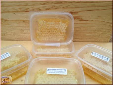 lavender Honey combs (120g.)