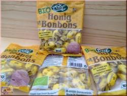 """Биологически чистые сосательные медовые конфеты """"EDEL"""" (75г)"""