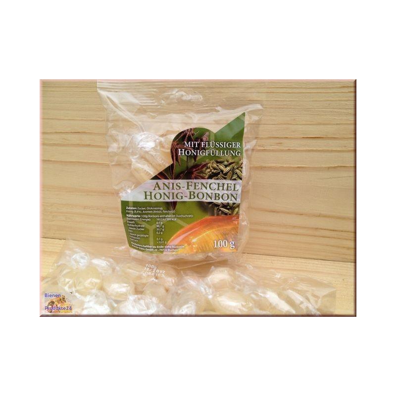 Bonbons Anis au fenouil et au miel (100g)