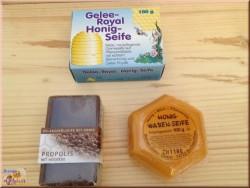 3 różne mydła z naturalnymi olejkami roślinnymi (300g)