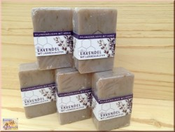 Honig Lavendelblüten Seife (100g)
