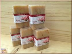 Savon au miel et pétales de rose (100g)