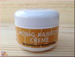 Crème au carotène et miel (50ml)