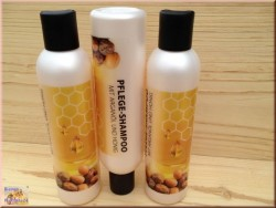 Arganöl Shampoo mit Honig (200 ml)