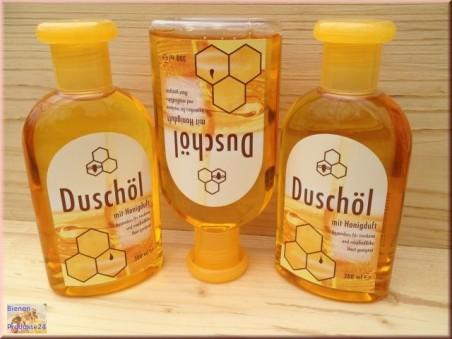Huile de douche au parfum de miel