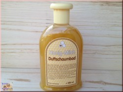 Bain au miel parfumée au lait (500ml)