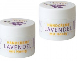 Hand cream with honey and lavender oil