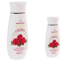 Lotion pour le corps à la rose et au miel (200 ml)