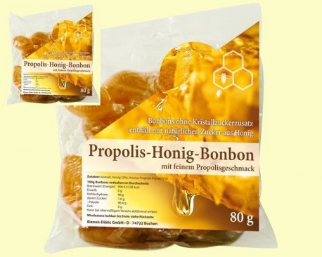 PROPOLIS HONEY BONBON 80 GR.