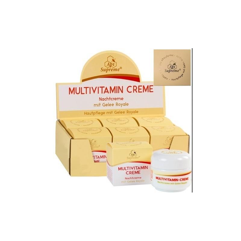 Nachtcreme ApiSupreme Multivitamin mit Gelee Royale