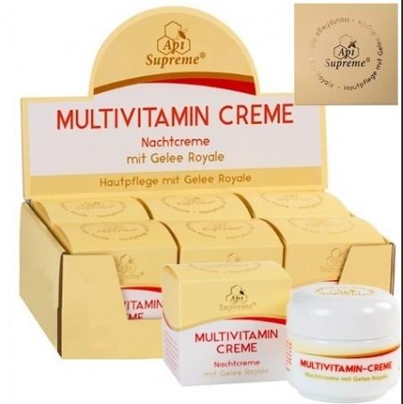 Crème de nuit ApiSupreme Multivitamin à la gelée royale