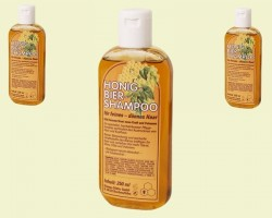 Shampoo with honey and beer (250ml)