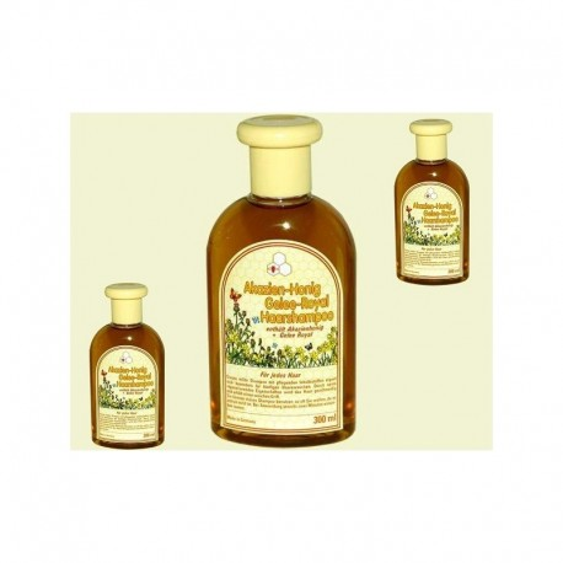 Shampoing à la gelée royale au miel d'acacia