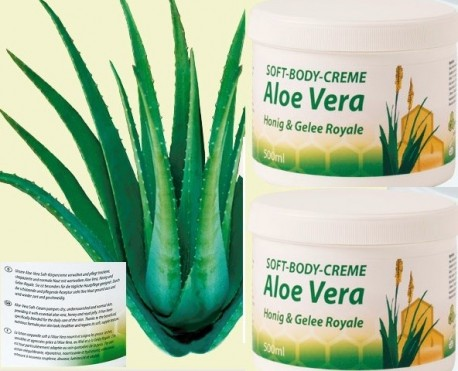 Honig Gelee-Royal Aloe Vera Soft Body_Creme