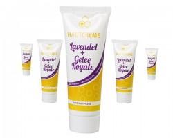 Lavendel und Gelle Royale Hautcreme