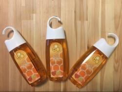 Frucht Duschgel mit Honig.