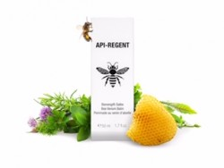 Ointment-herbal balm and essential oils with real bee venom