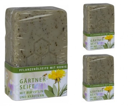 Soap for gardeners with honey 100g.