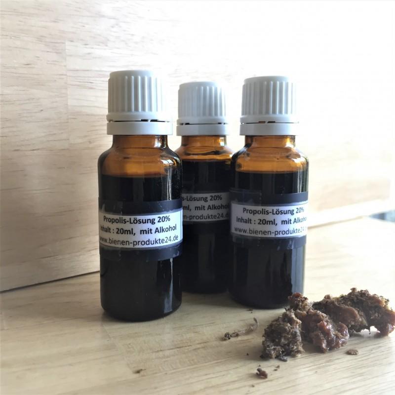 Nalewka z propolisa 20%, z alkoholem (20 ml)