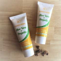 Crème mains AloeVera et Propolis