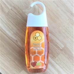 Fruit shower gel with honey.