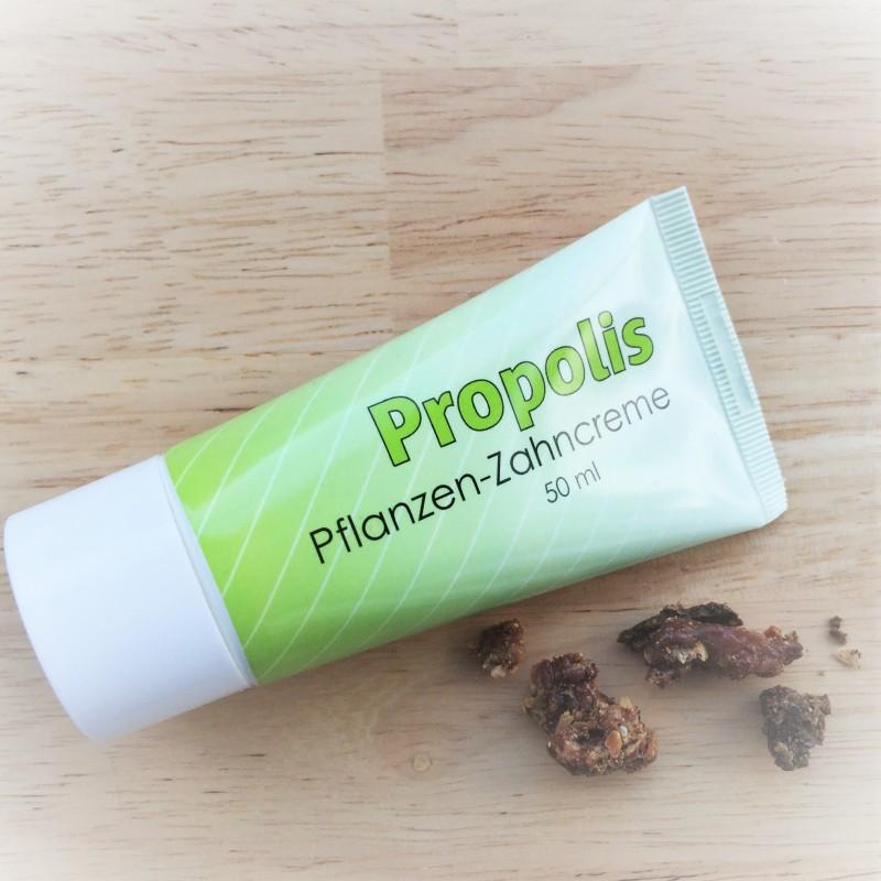Propolis toothpaste plant.