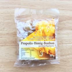 Bonbons à la Propolis au miel 80 gr.