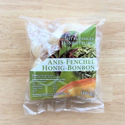 Anise fennel, honey candies (100g)