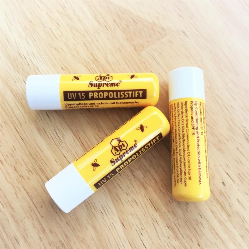 Lipstick with Propolis Api Supreme and UV protection.