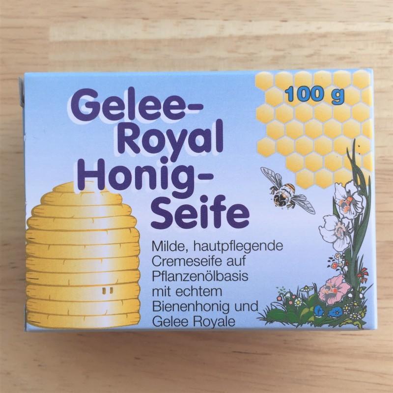 صابون غذاء ملكات النحل العسل