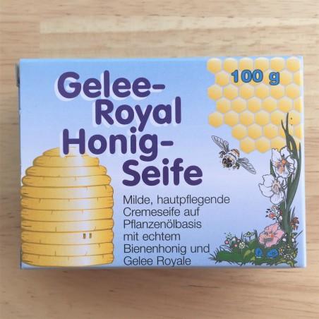 الصابون مع غذاء ملكات النحل والعسل