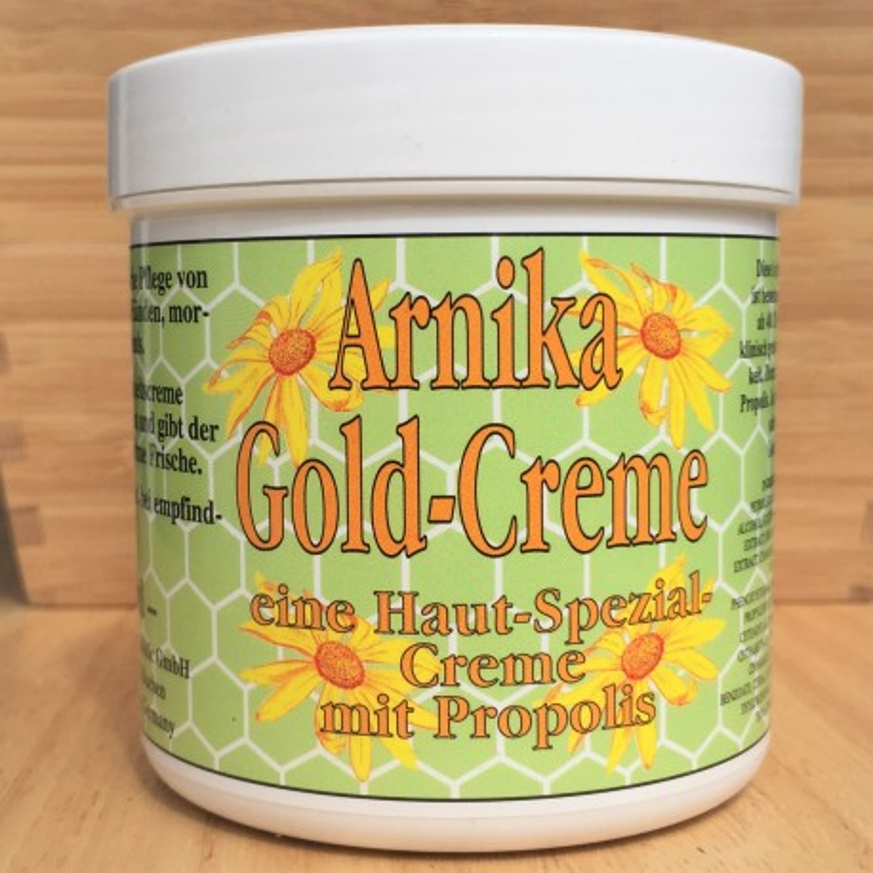 Arnica Gold Cream avec Propolis (250ml)