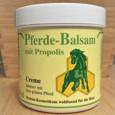 """Balm """"horse"""" with propolis, skin care."""