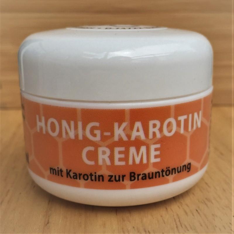 Crème au miel et carotène (50ml)