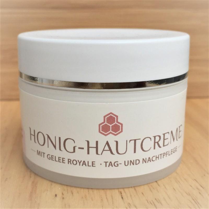 Honey skin cream with royal jelly
