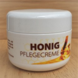 Pflegecreme mit Honig
