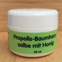 Pommade d'abeille à la propolis 50 ml