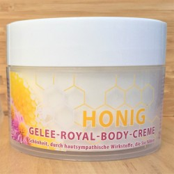 أروماتيزد كريم الجسم مع العسل و هلام الملكي.