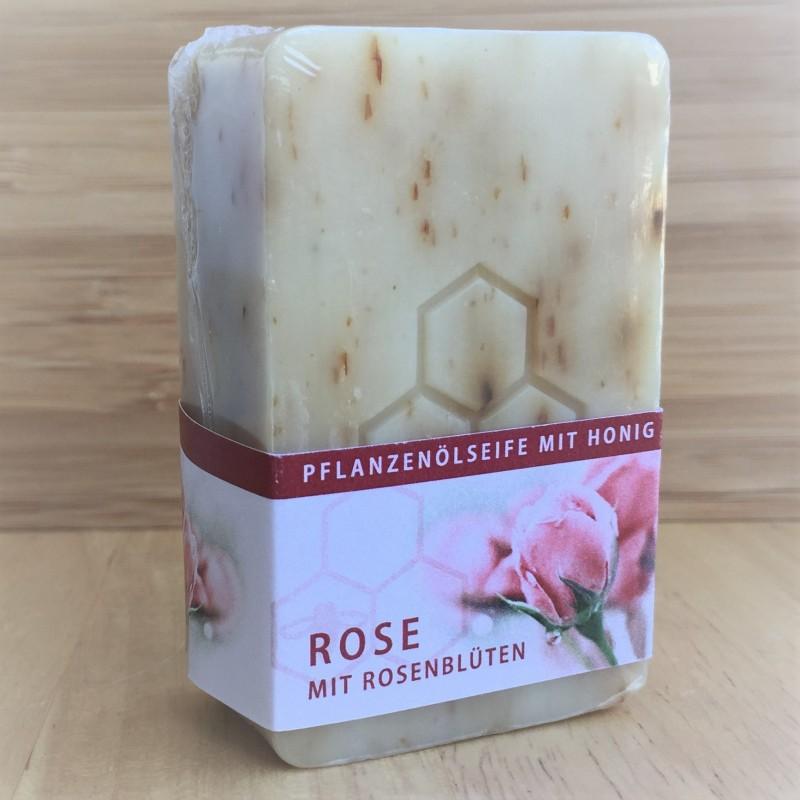 Мыло с мёдом и лепестками роз(100 г)