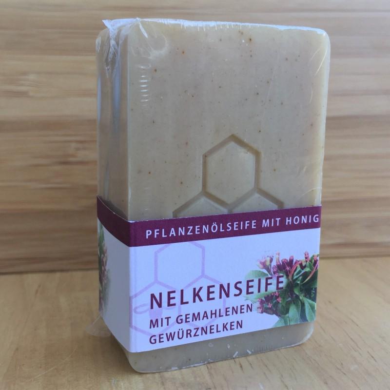 Nelkenseife mit Honig (100gr.)