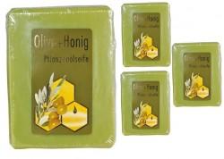 Pflanzenölseife mit Olive und Honig