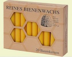 Bienenwachs Baumkerzen 100 %
