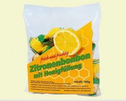 Bonbon au citron et au miel (100gr.)