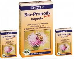 Organiczne kapsułki propolisowe forte (30 kapsułek)