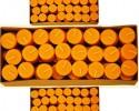 """Восковые свечи 100% """"Teelicht"""" Чайные свечи в гильзах.(96шт.)"""